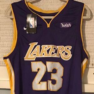 Nike LeBron James Lakers Jersey, Sz. Medium NWT